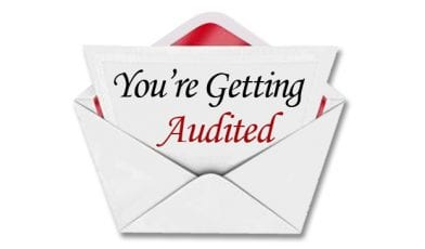 You're Getting Audited
